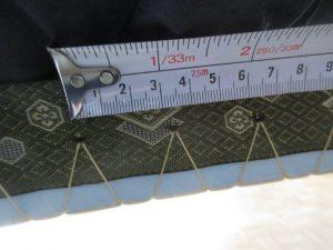 畳の返し縫い