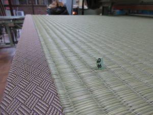 国産畳表を使った新調畳