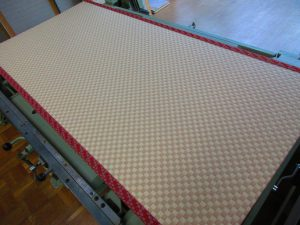 市松柄の畳