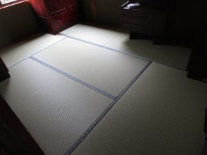 和紙の畳のお部屋