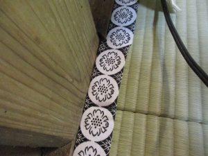 紋縁の新調畳