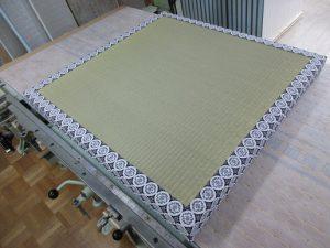 厚畳の製作途中