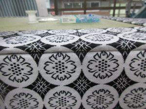 製作途中の厚畳