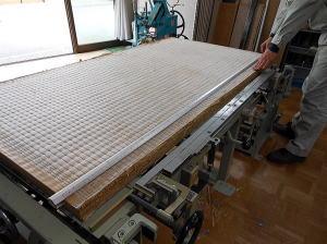 畳の製造 検寸