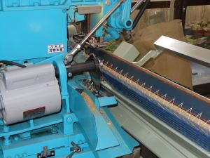 畳の製造 返し縫い