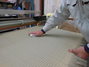 畳の掃除 乾拭き