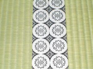 お寺の畳(白中紋)