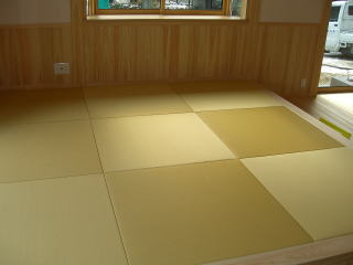 和紙の畳縁無半畳4、5畳