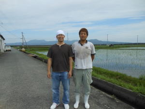 山本一さんの息子さんと私
