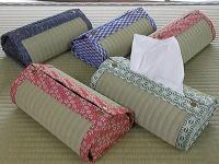南たたみ店の 畳のテッシュケースカバー