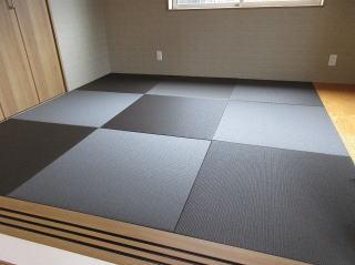 縁なし畳 ダイケン和紙畳表 栗茶色