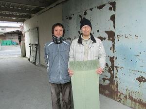 イ草農家さんと記念撮影