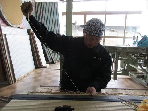 1級畳製作技能士 南佳治